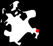 Baabe liegt im Südosten der Insel Rügen